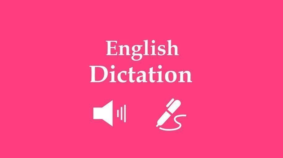 english dictation